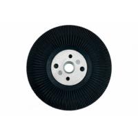 Опорная тарелка с ребрами охлаждения для фибровых шлифовальных кругов